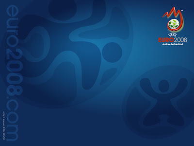 Blue Euro 2008 Background - (1024x768)
