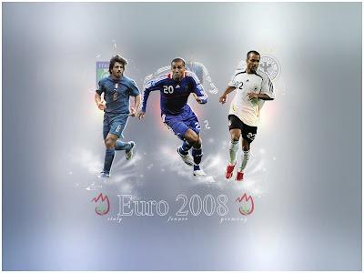 Euro 2008 Players Wallpaper - (1024x768)