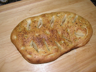 fougasse made with French bread recipe