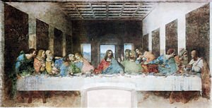 The Last Supper- Leonardo da Vinci, 1495–1498