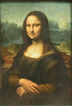 Mona Lisa- Leonardo da Vinci, circa 1503–1506 (Oil on poplar)