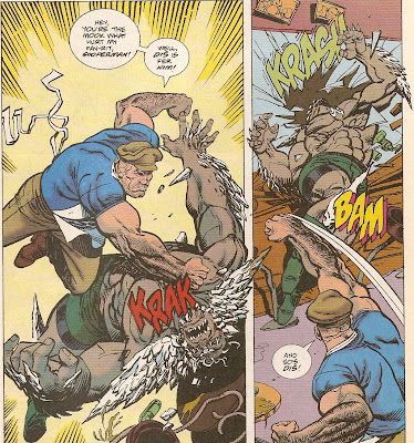 Doomsday's the one who'll be needing a funeral after this!!