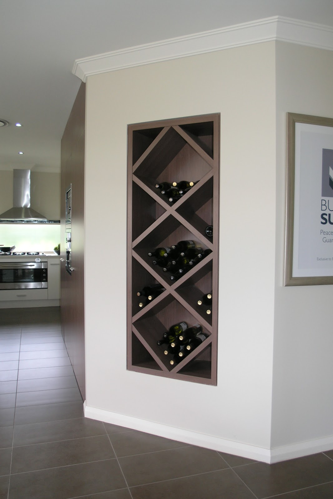 Wine Rack Built Into Wall Keeping Up With The Joneses Study Nook Inspiration