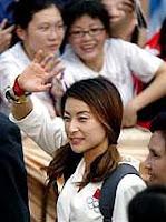Guo Jing Jing Sexy Diving