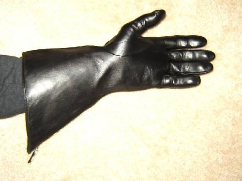 eBay Leather Nice sale on mens leather gauntlet gloves