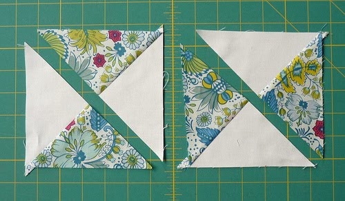 Red Pepper Quilts Hour Glass Block Tutorial