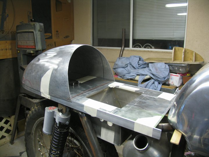 infernal combustion: aluminum cafe seat update