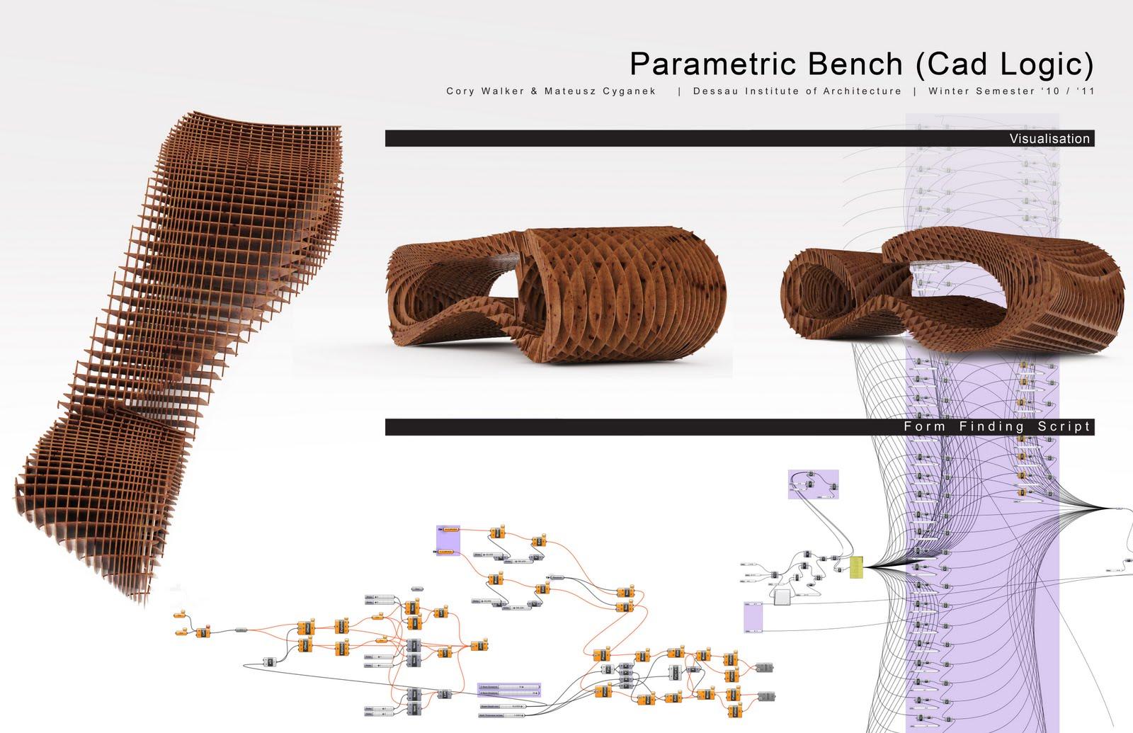 DIA SCRIPTING WS2010-11: Parametric Bench Cory
