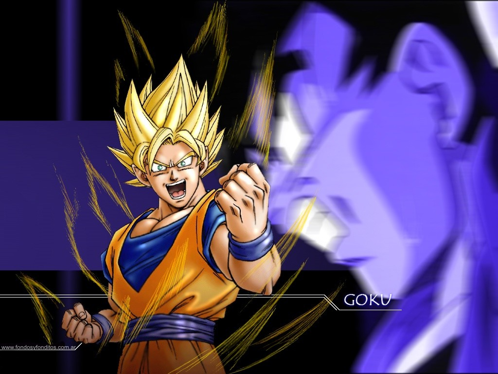 Goku Ssj Dios Para Fondo De Pantalla: Fondos De Pantalla En HD De Dragon Ball Z