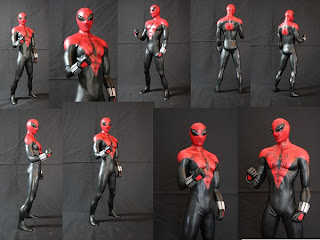 Spiderman Mask Concept Art