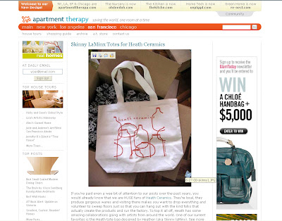 heath bags on apartment therapy sf skinny laminx