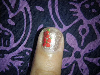 nail art design 2nd borneo international trade fair 2010