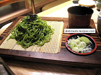 Cold Green Tea Soba