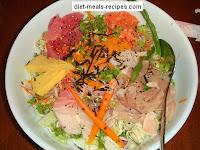 sashimi salmon salad