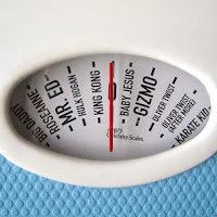 celebrities weighing scale