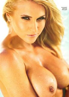 Kayleigh Pearson Topless Photoshoot