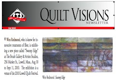 Published in Quilt Visions Newsletter