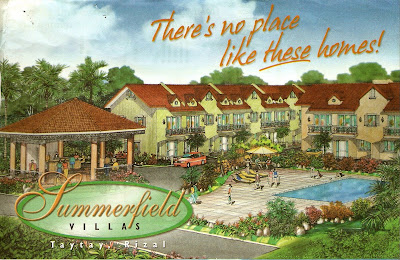 Properties in the philippines summerfield villas taytay for 8 salon taytay rizal