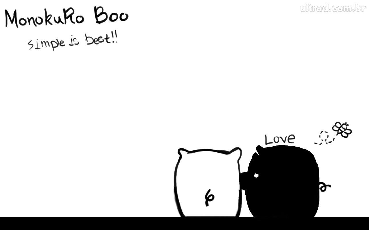 trololo blogg: Monokuro Boo Wallpaper