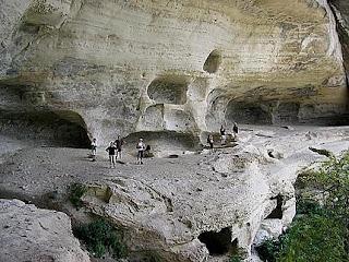Cave. Crimea