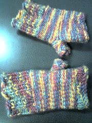 Loomed Fingerless Gloves