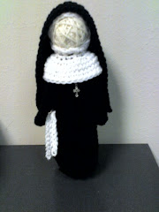 Crocheted Nun