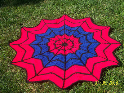 Sharons Eclectic Retreat Free Round Afghan Crochet Patterns
