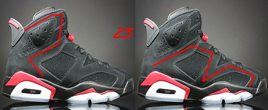 cb7b7036ddfce9 Hidden 23 On Air Jordan 6