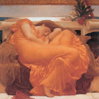 Flaming June by Frederick Lord Leighton