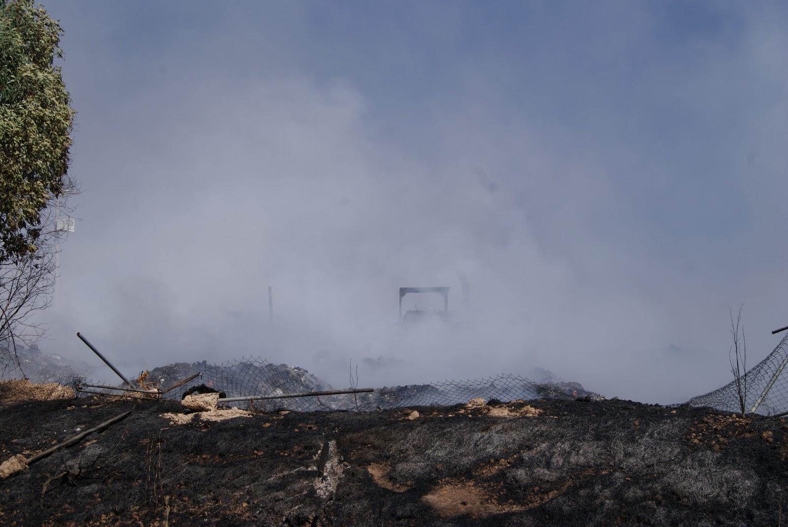 El Teulense: Incendio consume basurero municipal del Teúl de