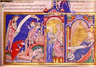 Illumination, English, 12th Century.