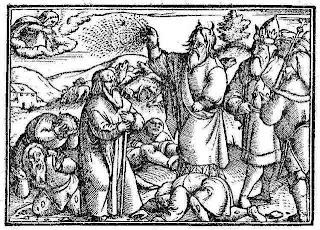 Zurich Bible -- The Plague Of Boils