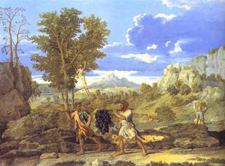 Nicolas Poussin. Autumn. The Grapes from the Promised Land. 1660-1664.