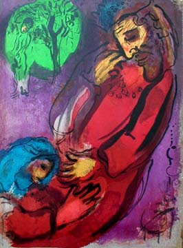 Chagall, 'David and Absalom'
