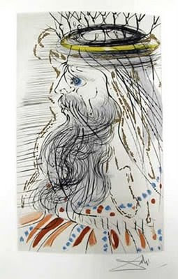 Dali, King Solomon, 1971.