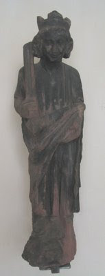 King Solomon, mediaeval German Statue