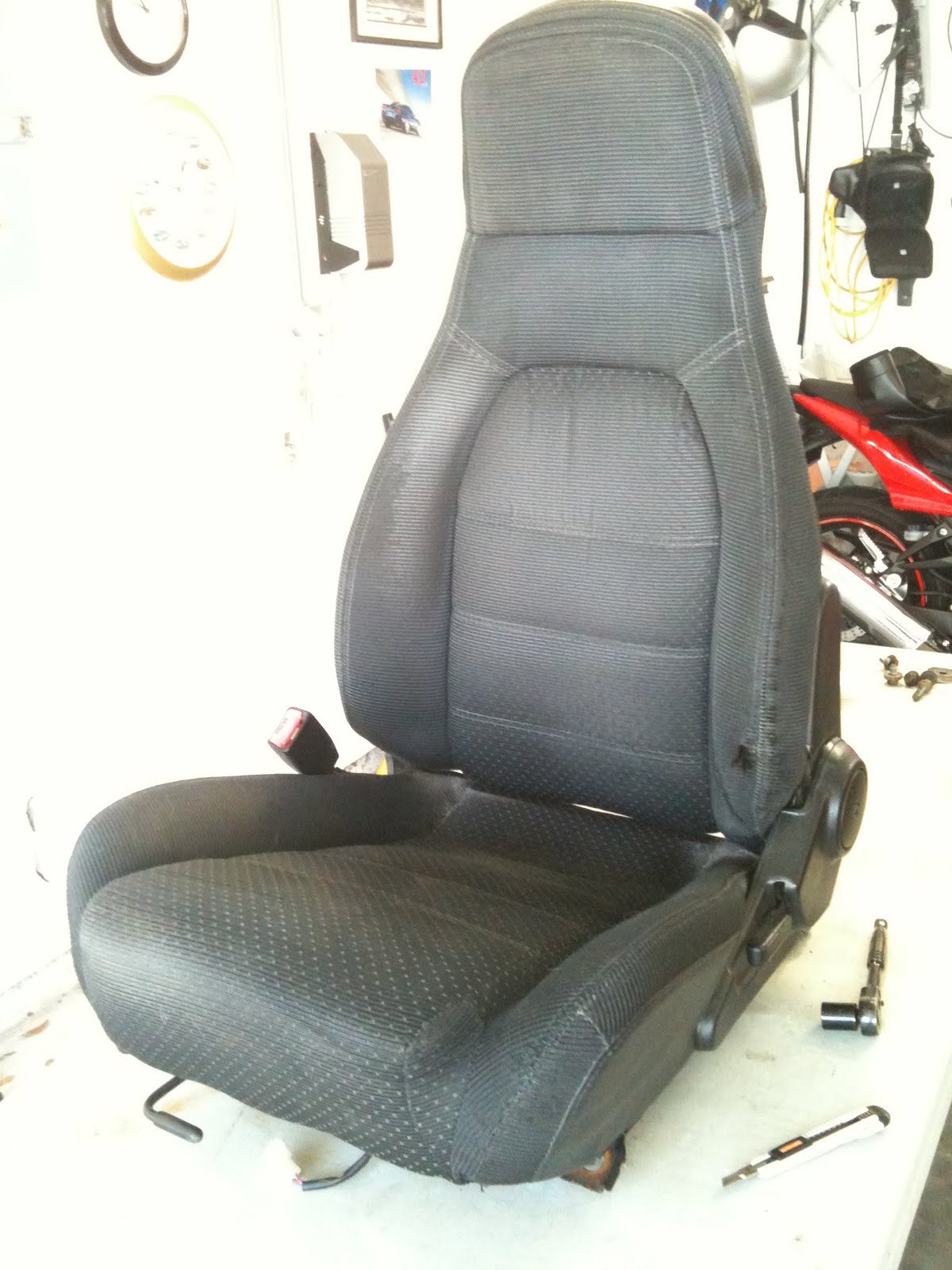 Astonishing Morrisons Garage Iggee Leatherette Seatcovers Bralicious Painted Fabric Chair Ideas Braliciousco