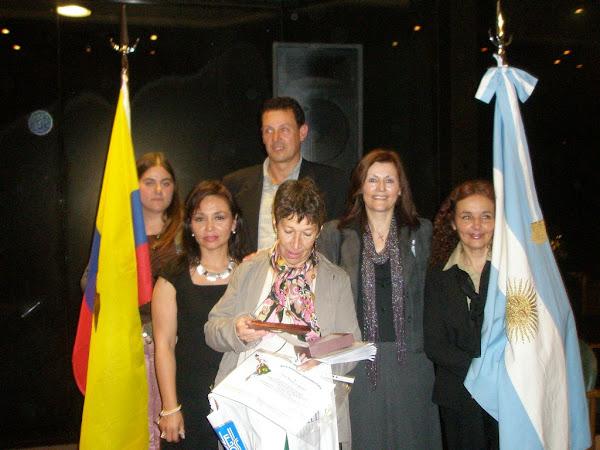 """Acto Distinción Latinoamericana """"Alfonsina Storni 2007"""""""