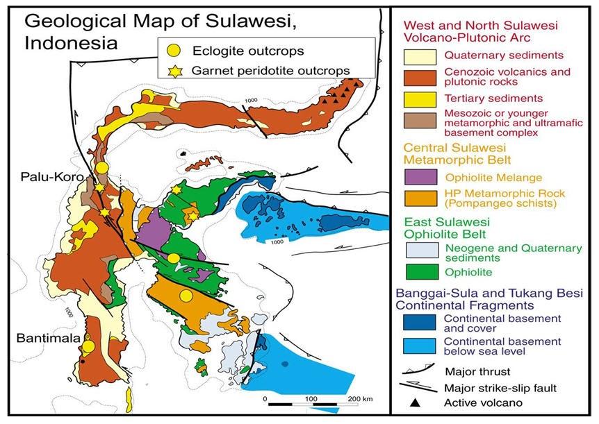 Exploration: Geology of Sulawesi Island, Indonesia
