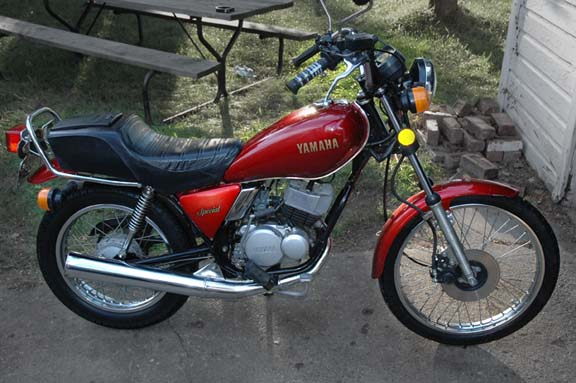 Looking for an old 80-100cc two stroke street bike
