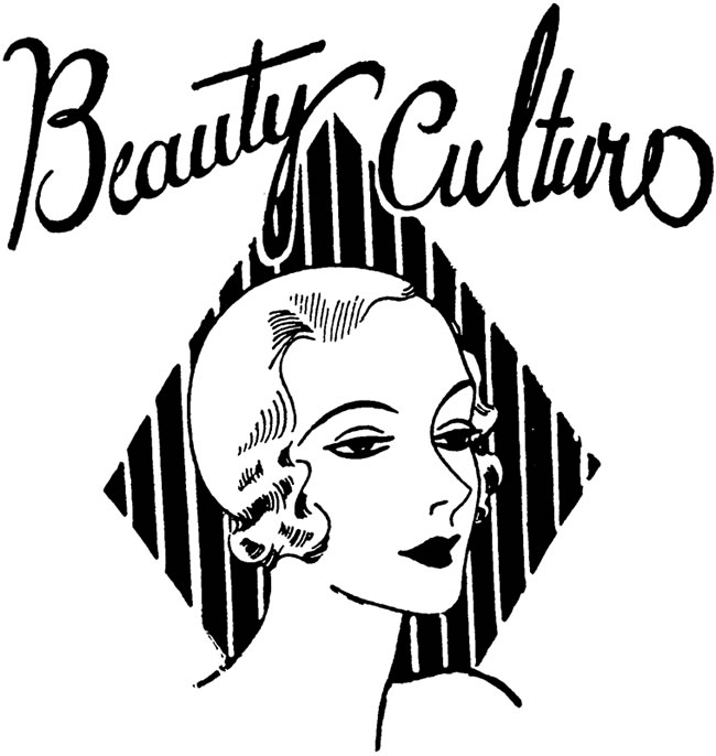 beauty shop clip art free - photo #14