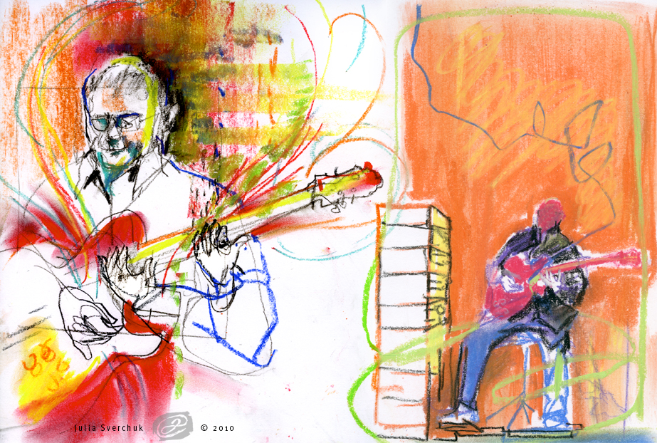 iDrawing: Drawing Music :: Robert Fripp's Soundscapes