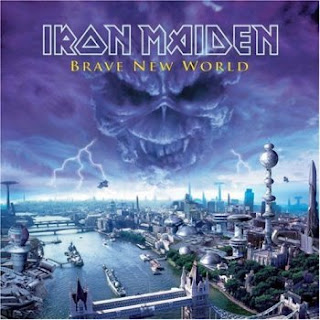 Portada Iron Maiden brave new world