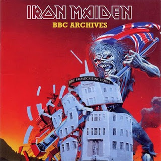 Portada Iron Maiden the bbc archives