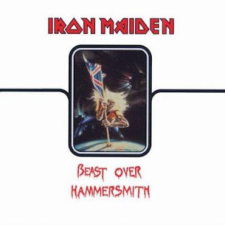 Portada Iron Maiden beast over hammersmith