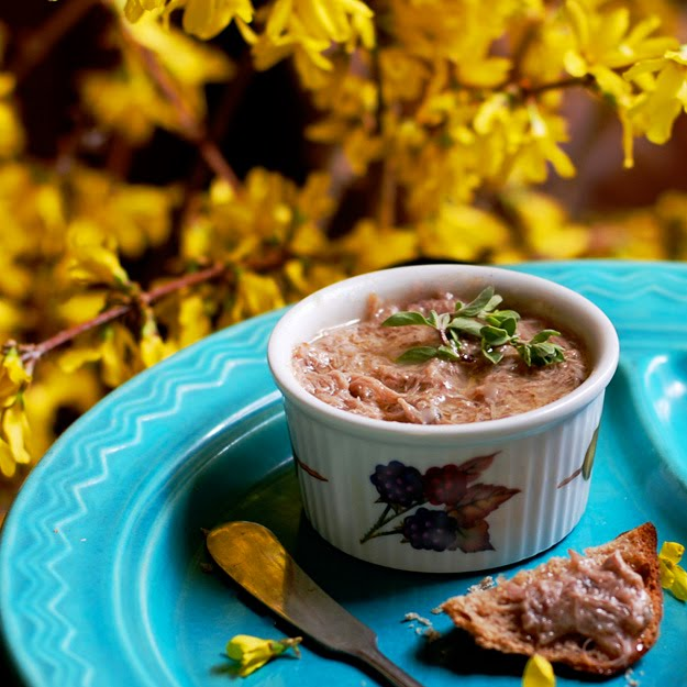 lostpastremembered Duck Rillettes
