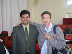 Eu e o Pr. Everaldo de Jesus..em uma conferência missionária.