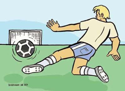 Voetballer - Bastiaan de Wit