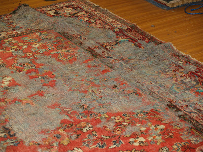 Rug Master Rug Moth Damage Repair Los Angeles
