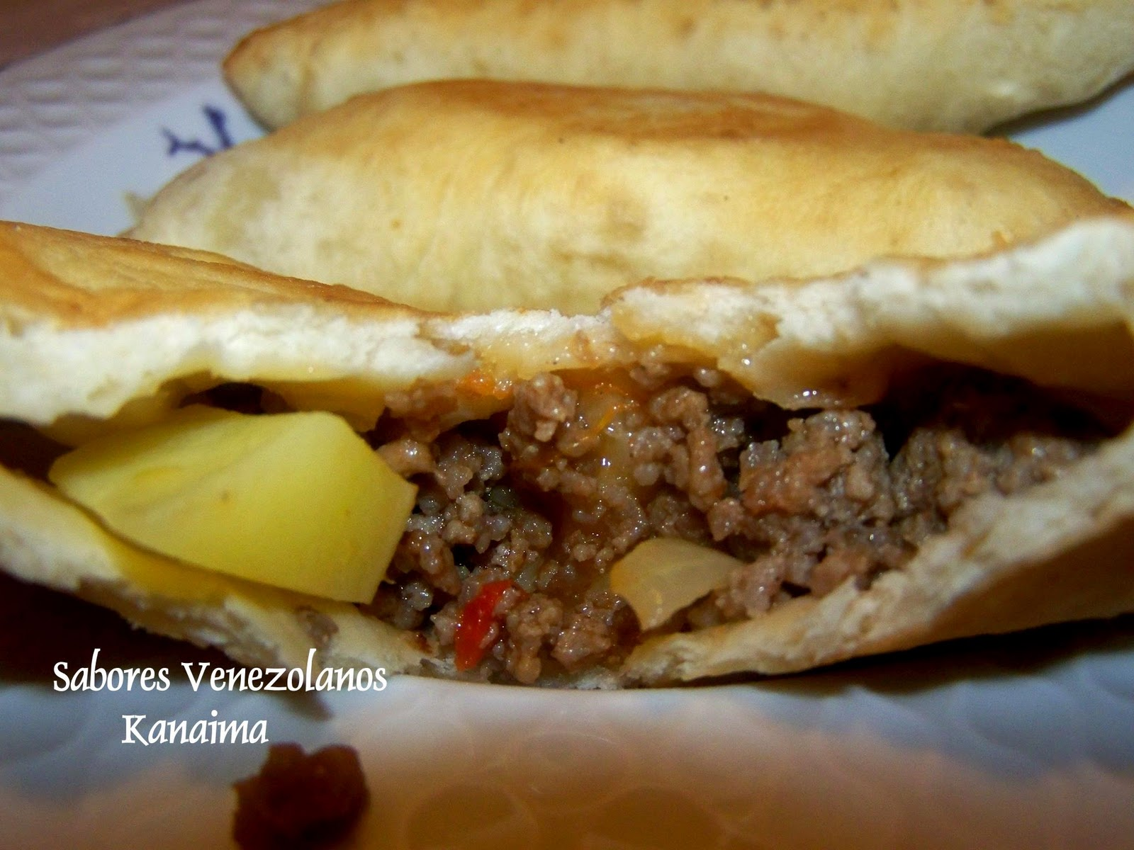 Sabores Venezolanos Pastelitos Andinos De Carne Con Papas